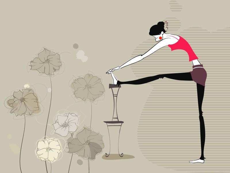 矢量运动女孩 2 11壁纸 矢量运动女孩壁纸 矢量运动女孩图片 矢量运动女孩素材 矢量壁纸 矢量图库 矢量图片素材桌面壁纸