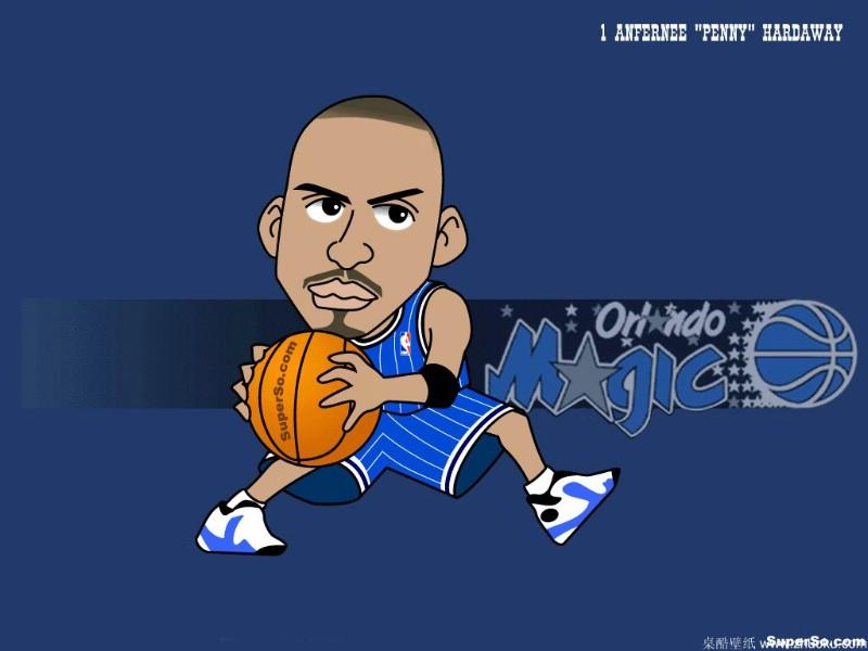 卡通篮球_