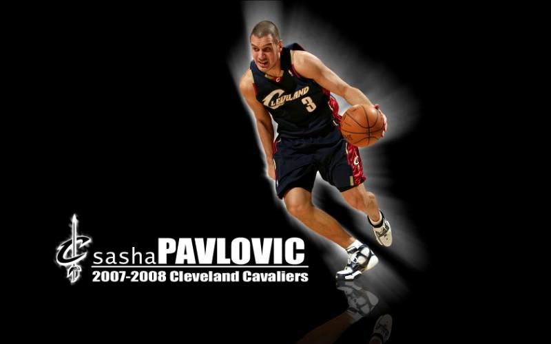 NBA壁纸 骑士队NO 3 亚历山大 帕夫洛维奇壁纸 ...