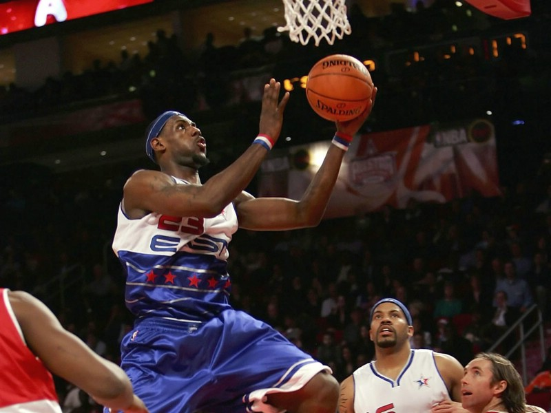 NBA壁纸 骑士队NO 23 勒布朗 詹姆斯壁纸 LeBron James Desktop壁纸,克里夫兰骑士队官方桌面壁纸壁纸图片
