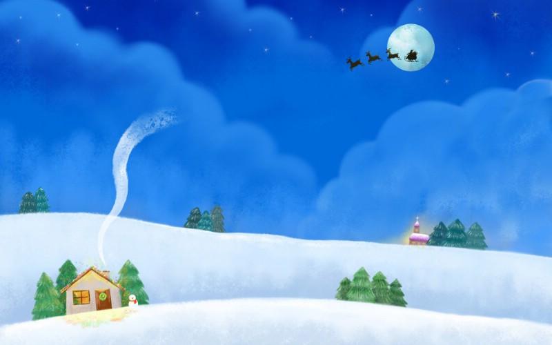 可爱温馨圣诞插画宽屏壁纸 壁纸4壁纸 可爱温馨圣诞插画宽屏壁纸 可爱温馨圣诞插画宽屏图片 可爱温馨圣诞插画宽屏素材 系统壁纸 系统图库 系统图片素材桌面壁纸