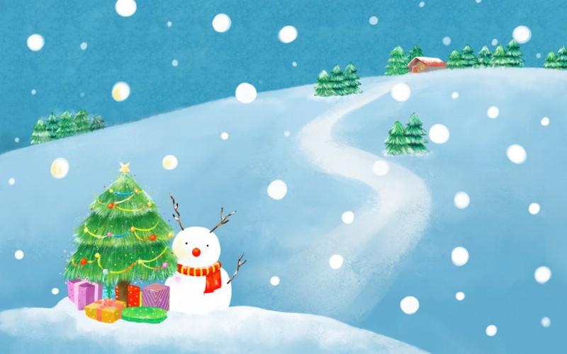 可爱温馨圣诞插画宽屏壁纸 壁纸5壁纸 可爱温馨圣诞插画宽屏壁纸 可爱温馨圣诞插画宽屏图片 可爱温馨圣诞插画宽屏素材 系统壁纸 系统图库 系统图片素材桌面壁纸