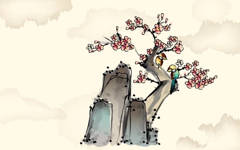 中国风水墨画 宽屏壁纸 壁纸5壁纸 中国风水墨画 宽屏壁壁纸 中国风水墨画 宽屏壁图片 中国风水墨画 宽屏壁素材 系统壁纸 系统图库 系统图片素材桌面壁纸