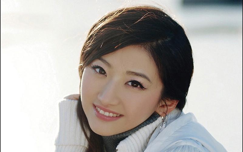 中国美女景甜宽屏素材