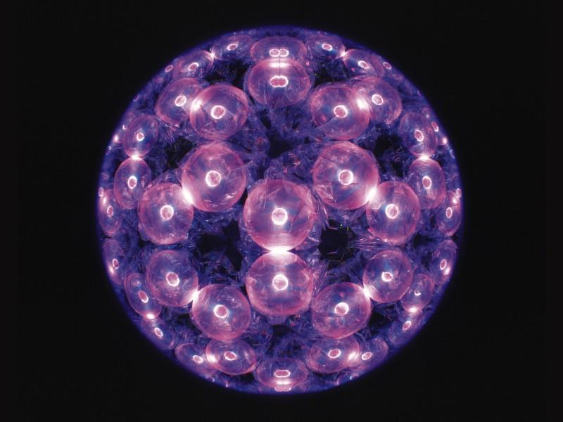 紫色炫彩几何花纹分层分形手机壁纸梦幻万花筒