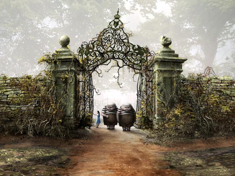 爱丽丝梦游仙境aliceinwonderland壁纸6壁纸图片 高清图片
