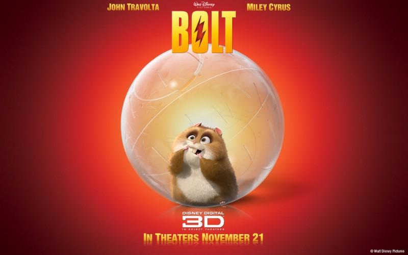 动画电影《 闪电狗 / 明星狗 (Bolt) 》壁纸 、Bolt 超级闪电...