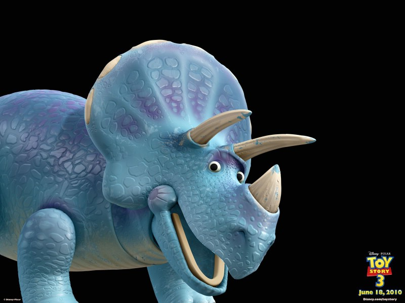 trixie 特蕾西、3D动画片《玩具总动员3》是玩具总动员系列...
