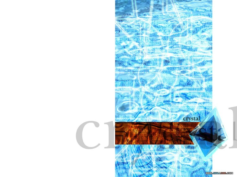 彩色世界之 蓝色视觉主题壁纸 第二辑 蓝色视觉CG壁纸 ...